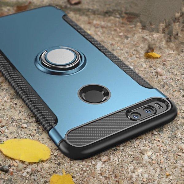 Силиконовый чехол с магнитным кольцом (Xiaomi Mi 5x Mi A1) очень удобный