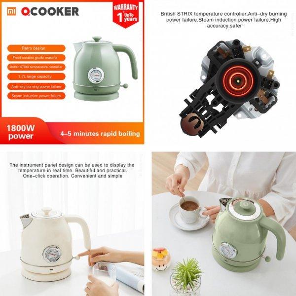 Чайник с термостатом XIAOMI QCOOKER (2 цвета)