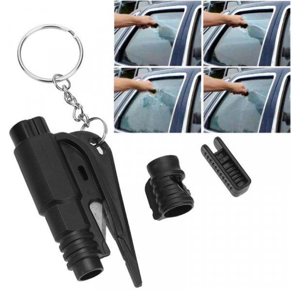 Карманный брелок со стеклобоем для авто Alloet (3 в 1)