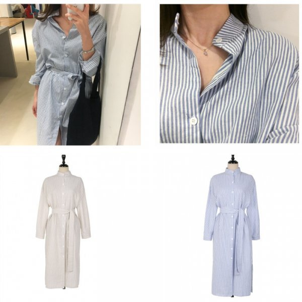 Платье-рубашка Colorfaith (2 цвета, 4 размера)