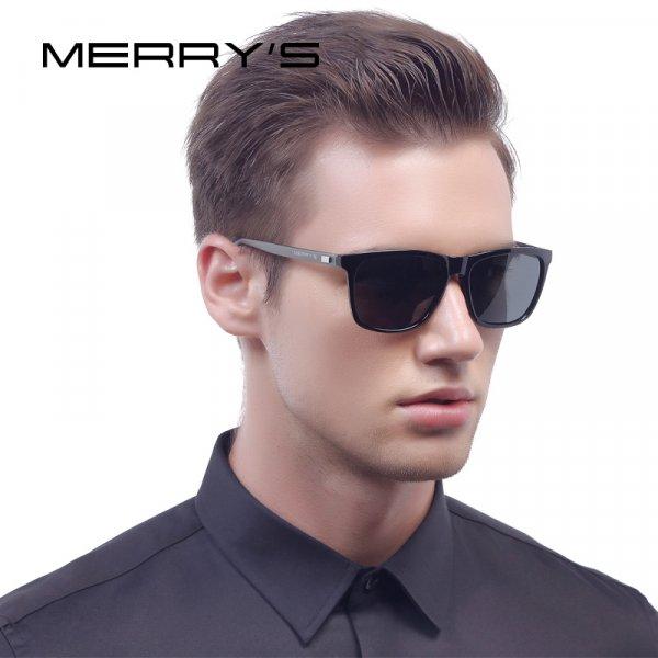 Классические мужские очки для солнца MERRY'S