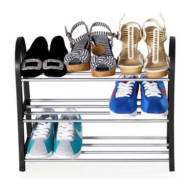 Полка для обуви LEHUOSHIGUANG (3 или 4 полки, 4 цвета)