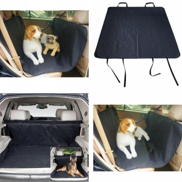 Непромокаемый коврик в авто для питомца KIMHOME PET