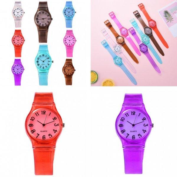 Яркие детские часы (8 цветов)