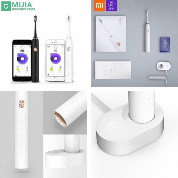 Электрическая зубная щетка Xiaomi Soocare X3 X3S Soocas (связь с  Android, iOS)