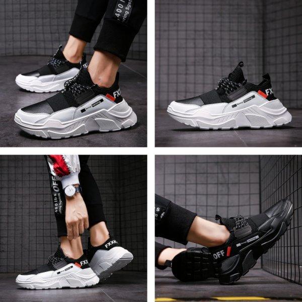 Крутые кроссовки для мужчин  ZPCAILT (4 цвета, 9 размеров)