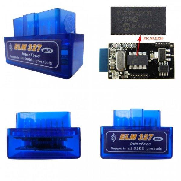 Точный OBDII-сканер Elm327 для авто