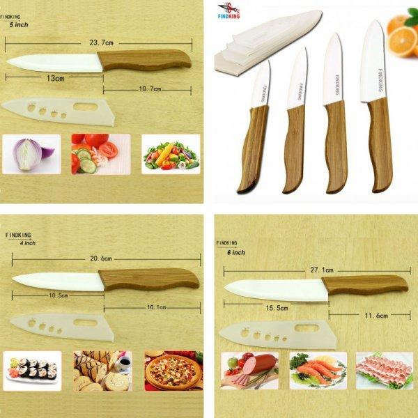 Набор керамических ножей FINDKING (4 шт)