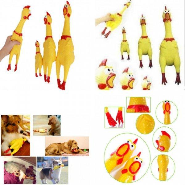 Собачье счастье - игрушка Чумовая курица TINGHAO