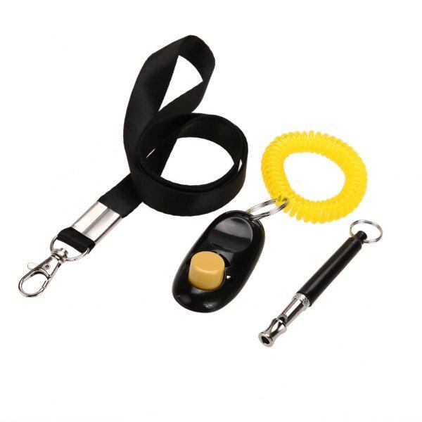 Набор для дрессировки собак со свистком KIMHOME PET (3 в 1, ультразвук)