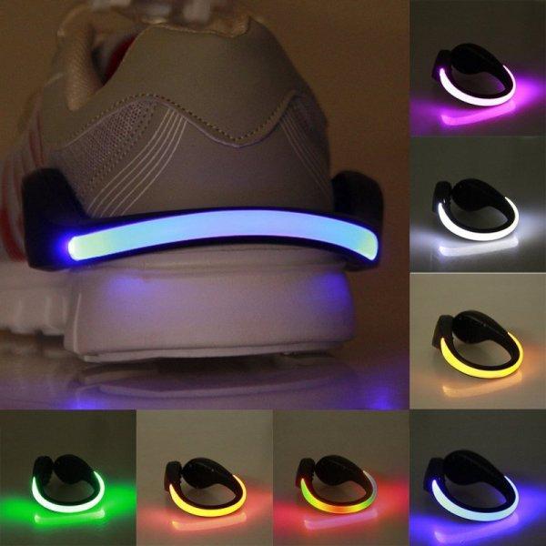 Светодиодный зажим для обуви Free_on (6 цветов)