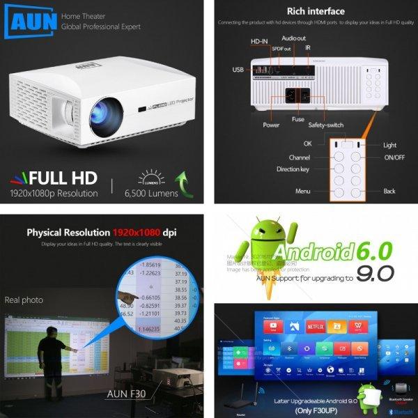 Кинопроектор AUN Full HD