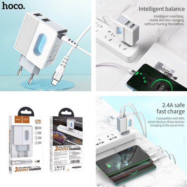 Адаптер быстрой зарядки HOCO