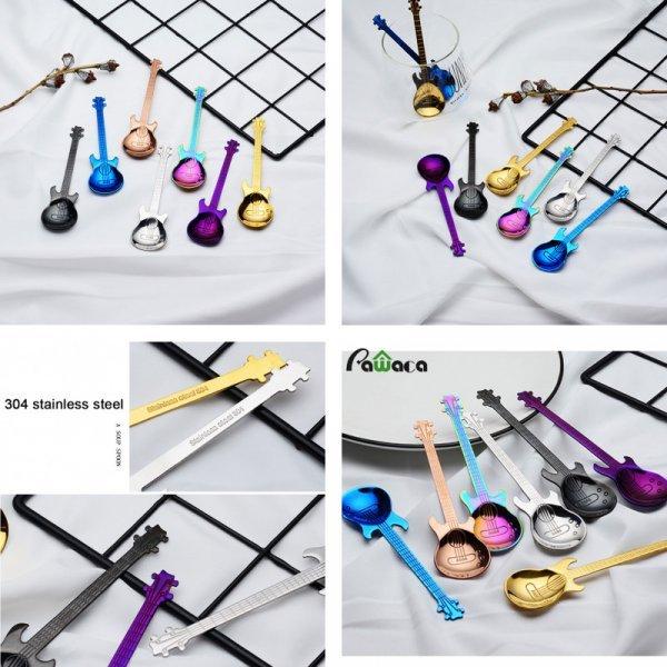 Набор ложек для музыкантов (7 цветов, 4-7 шт)