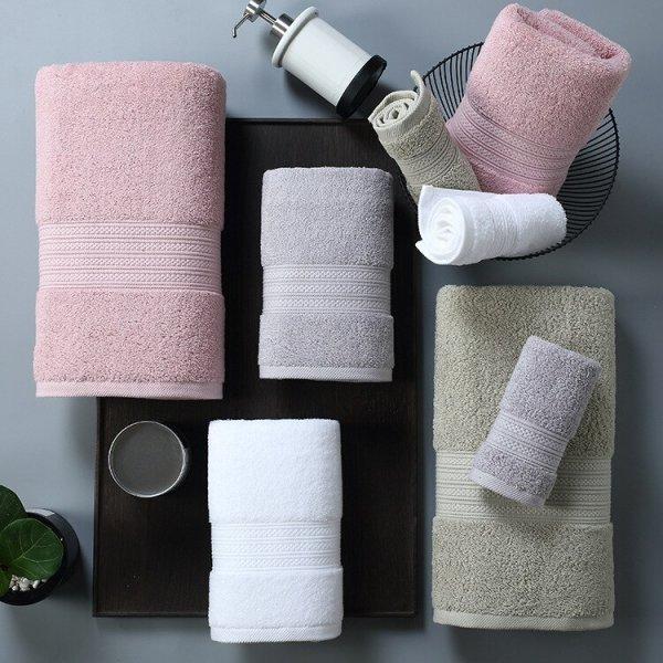 Махровое полотенце HAKOONA (4 цвета, 3 размера)