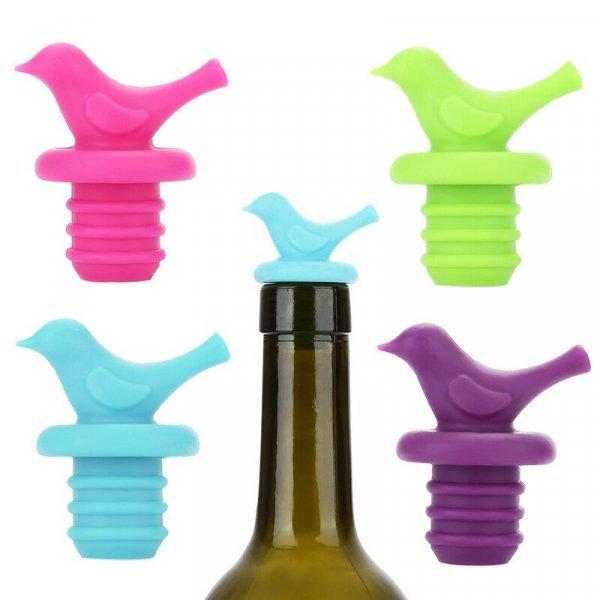 Яркая пробка для бутылки Птица Aihogard (3.2*5 см)