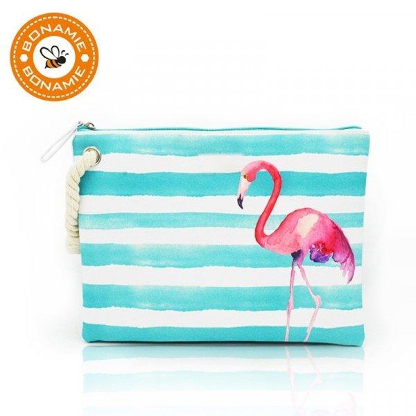 Мини сумочка для пляжа и на каждый день BONAMIE (5 принтов, 30.5*23*1 см)