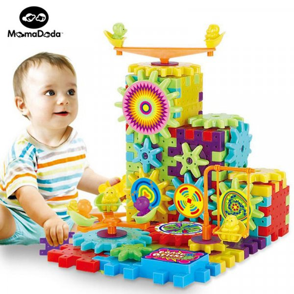 Хитрая головоломка 3D Шестеренки не только для детей (81 шт.)