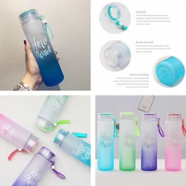 Бутылка для воды (4 цвета)