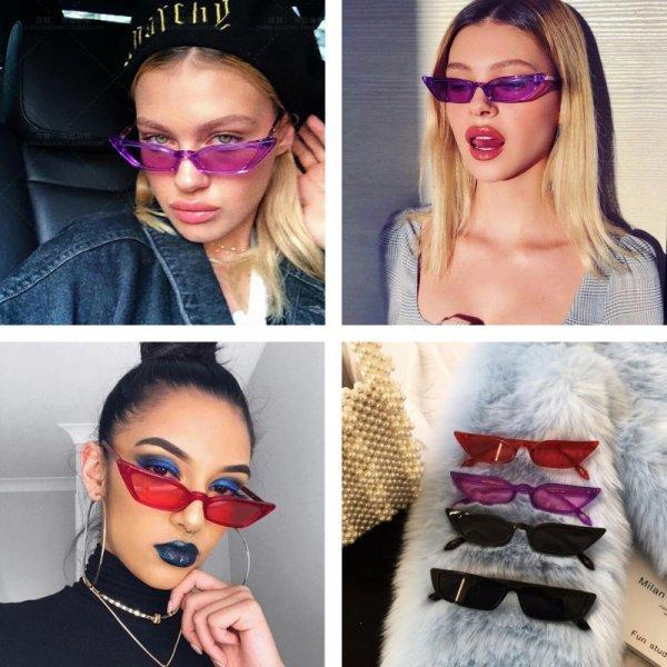 Новинка лета 2018! Очки для женщин в стиле Рок Звезда (UV 400, 7 цветов)