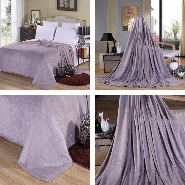 Однотонное покрывало для спальни (11 цветов, 3 размера)