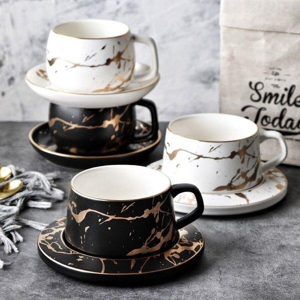 Чашка с росписью MUZITY (керамика, 2 цвета)