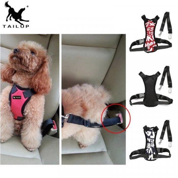 Удобная шлейка с поводком для поездок с собакой TAILUP (4 размера)