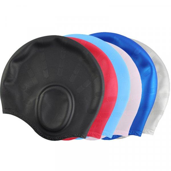 Семейная шапочка для плавания с защитой ушей