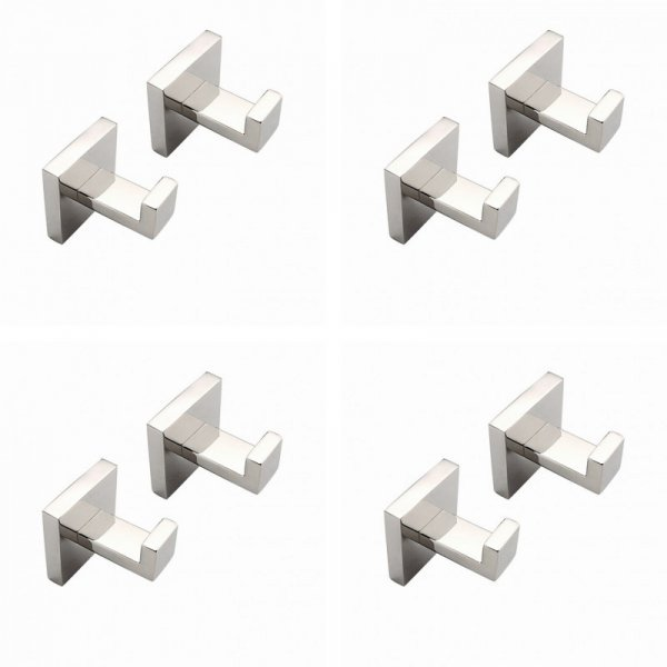 Стильная пара крючков для ванной Fevnd (2 шт, 55*60.5 мм)