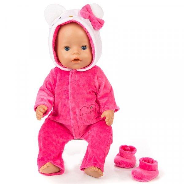 Одежда для куклы и обувь  (43 см , 1 шт, 3 цвета)