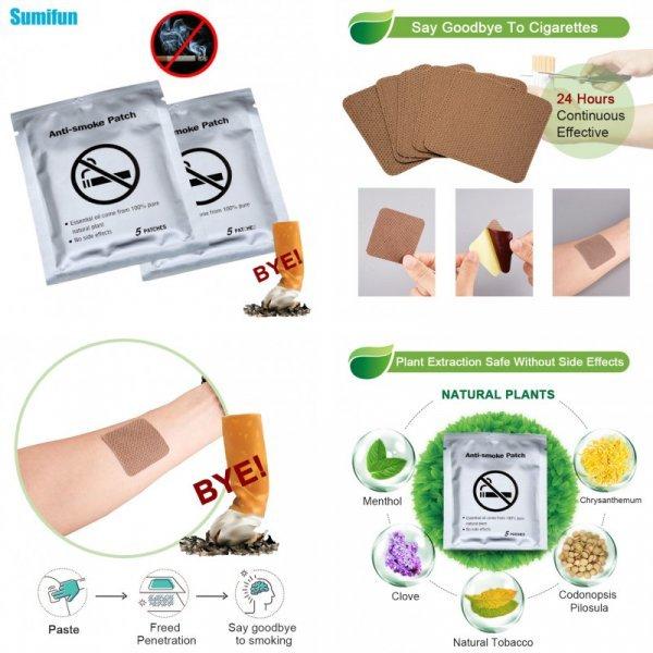 Пластырь против курения Sumifun (20 шт)