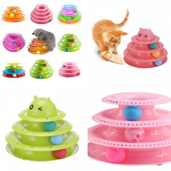 Игрушка Чумовой мячик для кошек (25*25*13 см)