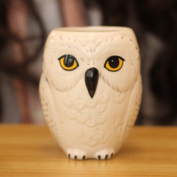 Забавная чашка с совой