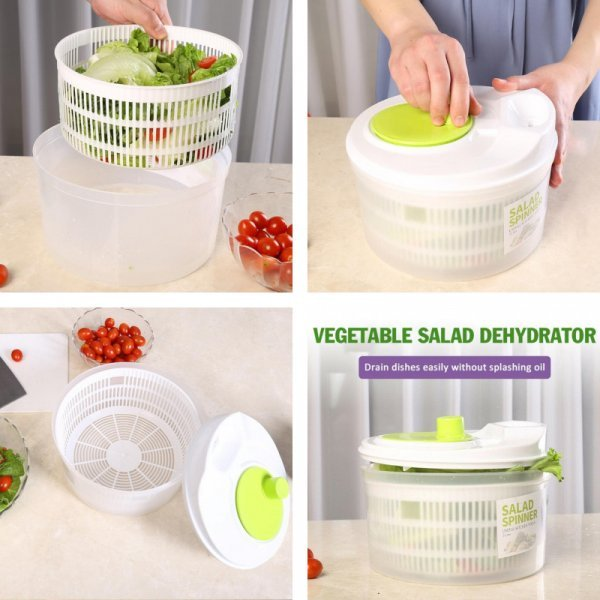 Механическая сушилка для салата и овощей