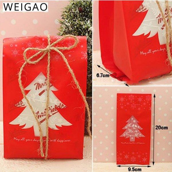 Упаковка для подарков  WEIGAO (20 шт, 2 цвета)