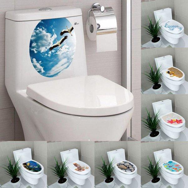 Шикарные стикеры в ванну Природа
