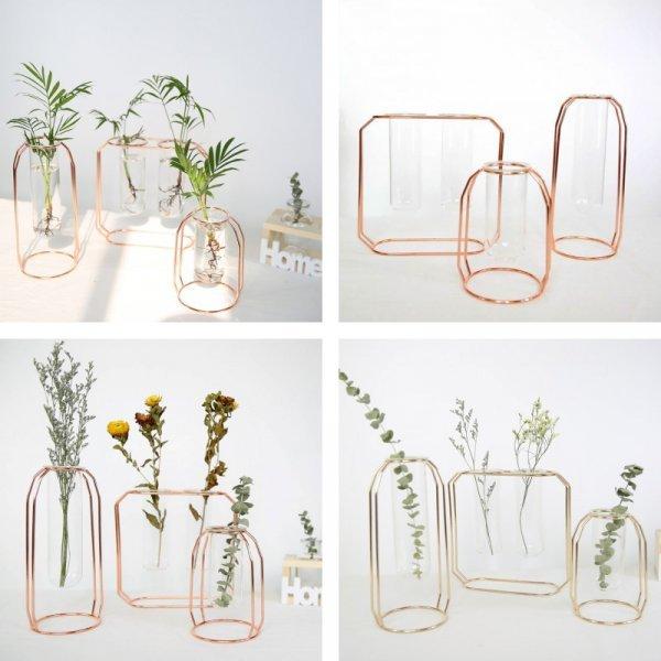 Каркасная ваза  FGHGF (4 вида)