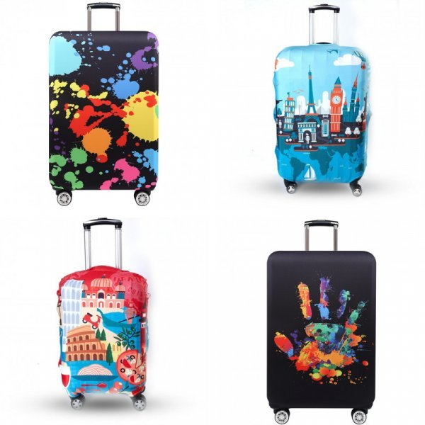Чехол для багажа TRIPNUO (27 цветов, 4 размера)