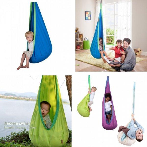 Забавный гамак с подушкой для детей (150 x 70 см, 5 вариантов)