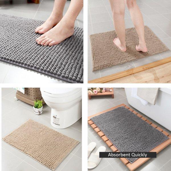 Ультра-мягкий коврик для ванной FARLEOPARD (5 цветов, 40*60 см и 50*80 см)