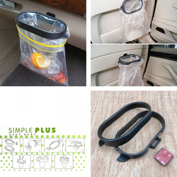 Складной держватель для мусора в авто Vinidname