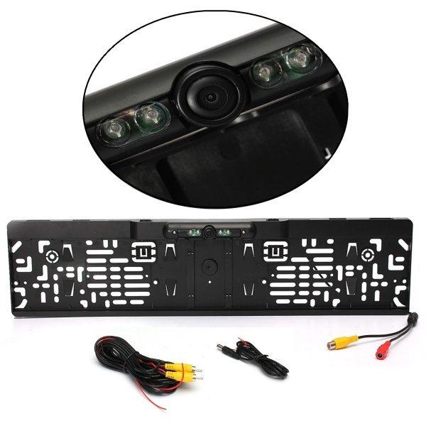 Рамка для госномеров со встроенной камерой заднего вида Autoleader