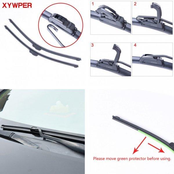 Безкаркасные дворники для машины XYWPER (от 325-800 мм)