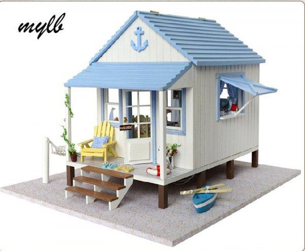 Набор Кукольный дом своими руками из дерева (30*26*21cm)