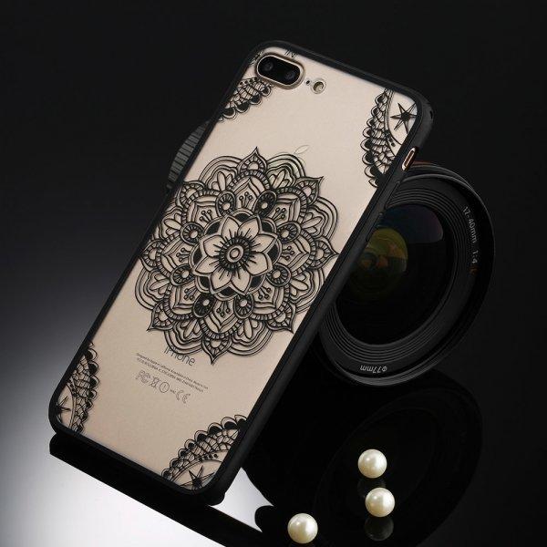 Чехол для телефона с цветочным принтом USLION (13 цветов)