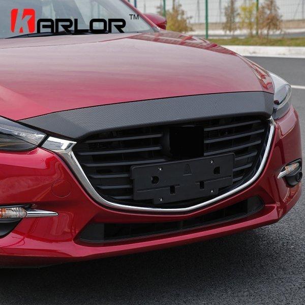Автомобильный дефлектор капота Karlor (для Mazda)