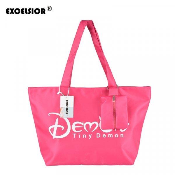 Идеальная сумка для пляжа с большими ручками EXCELSIOR (4 цвета, 25*43*16 см)