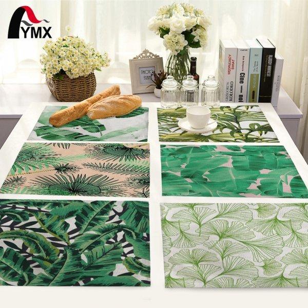 Сказочные салфетки для стола из ткани (19 цветов, 42*32 см)