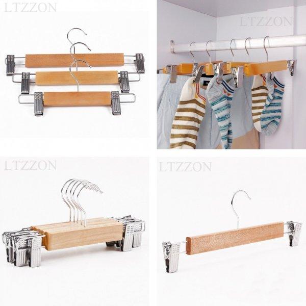Отличная вешалка для брюк и юбок LTZZON (1 шт, 24 см, 28 см, 32 см)