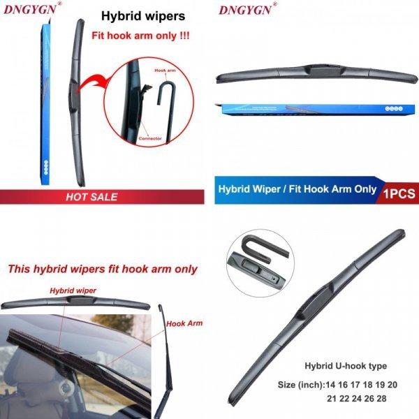 Гибридные щетки стеклоочистителя для авто EXISTENCE (11 размеров, 1 шт)